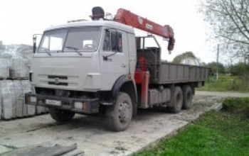 Кран-борт полуприцеп 16 тонн