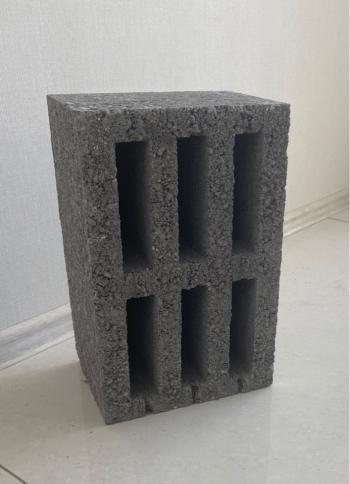 Стеновой утолщенный керамзитобетонный блок