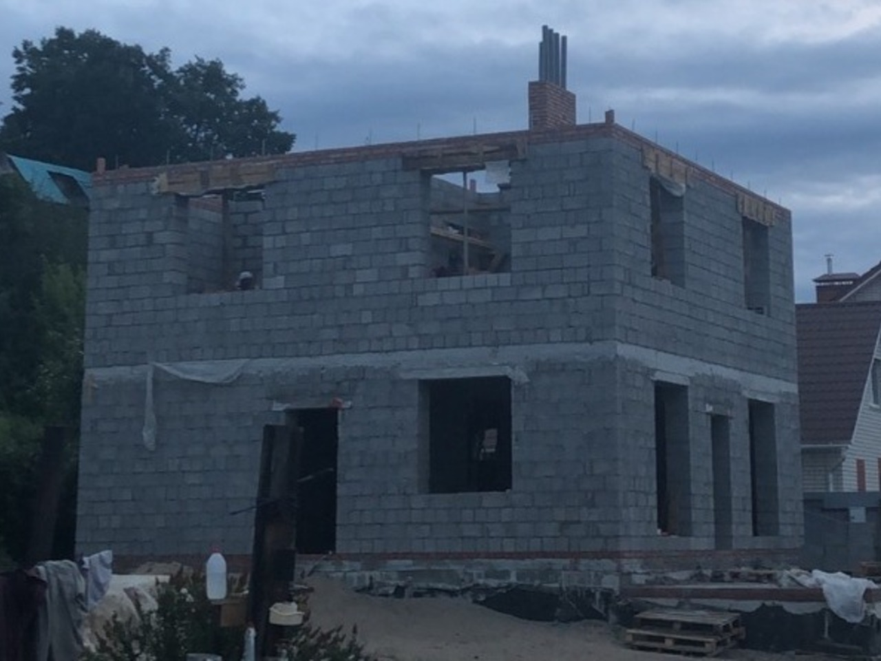 Строй дом керамзитобетон адванс бетон